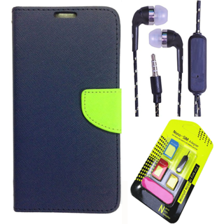 Micromax Canvas Fire 4 A107  Credit Card Slots Mercury Diary Wallet Flip Cover Case