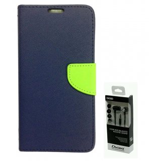 Micromax Canvas 4 A210  NEW FANCY DIARY FLIP CASE BACK COVER