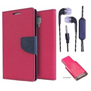 Reliance Lyf Earth 2  Credit Card Slots Mercury Diary Wallet Flip Cover Case