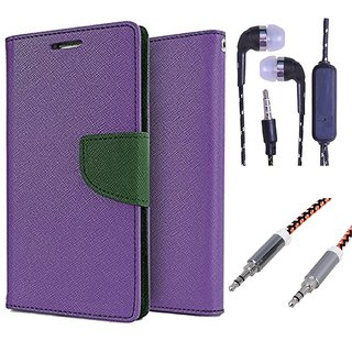 Samsung Galaxy Ace NXT G313H  Credit Card Slots Mercury Diary Wallet Flip Cover Case