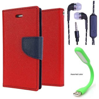 Reliance Lyf Flame 4  Credit Card Slots Mercury Diary Wallet Flip Cover Case