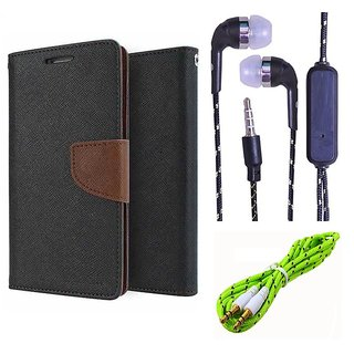 Micromax Bolt S302   NEW FANCY DIARY FLIP CASE BACK COVER