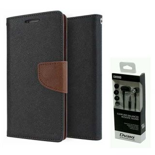 Micromax Canvas Sliver 5 Q450  NEW FANCY DIARY FLIP CASE BACK COVER