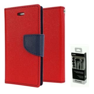 Micromax Bolt D320  NEW FANCY DIARY FLIP CASE BACK COVER