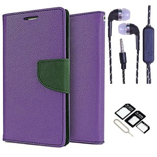 Sony Xperia M5 Dual  NEW FANCY DIARY FLIP CASE BACK COVER