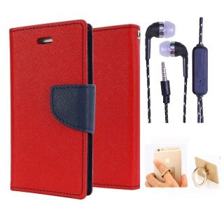 Micromax Canvas A1  NEW FANCY DIARY FLIP CASE BACK COVER