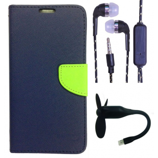 Micromax Bolt Q338  NEW FANCY DIARY FLIP CASE BACK COVER