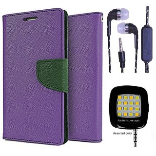 Sony Xperia C4  NEW FANCY DIARY FLIP CASE BACK COVER