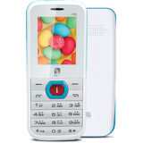 IBall King 1.8D Dual SIM Mobile Phone - (white + Blue)