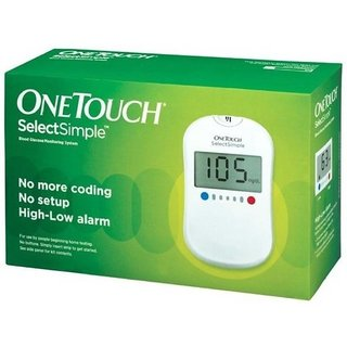 One Touch Select Glucose Monitor- Free 10 Strip