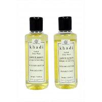 Khadi Natural Sandal Turmeric Body Wash (2 PACKS)