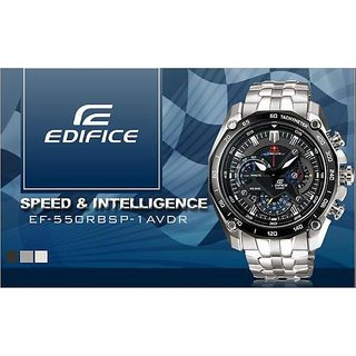 ORIGINAL CASIO EDIFICE EF 550 REDBULL WATCH-BLACK
