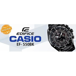 ORIGINAL CASIO EDIFICE EF 550BK WATCH