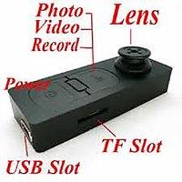 Button Camera 64 GB Audio/Video Camera