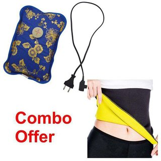 Combo pack of Slimming Belt with Hot Water Bottle