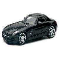 1:24 Mercedes Benz Sls Amg 2010, Open Hood, (B- Black), Pvc Pack