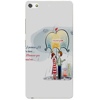 3D Designer Back Cover for Gionee S7 :: I Promise I'll be there  ::  Gionee S7 Designer Hard Plastic Case (Eagle-013)