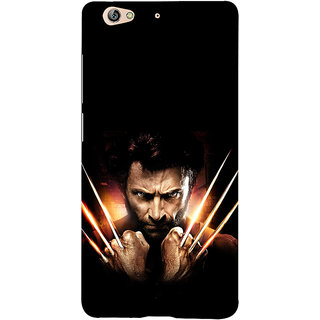 3D Designer Back Cover for Gionee S6 :: Man with Fire Sword  ::  Gionee S6 Designer Hard Plastic Case (Eagle-029)