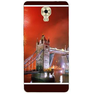 3D Designer Back Cover for Gionee Marathon M6 Plus :: Tower Bridge in London  ::  Gionee Marathon M6 Plus Designer Hard Plastic Case (Eagle-071)