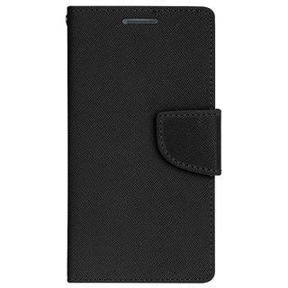 New Mercury Goospery Fancy Diary Wallet Flip Case Back Cover for  Lenovo A2010  (Black)