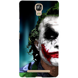 3D Designer Back Cover for Gionee Marathon M5 Plus :: Man with Multicolor on Face  ::  Gionee Marathon M5 Plus Designer Hard Plastic Case (Eagle-018)