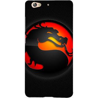 3D Designer Back Cover for Gionee S6 :: Dragon  ::  Gionee S6 Designer Hard Plastic Case (Eagle-073)