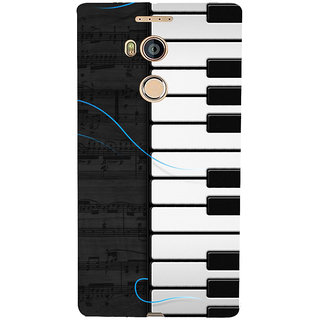3D Designer Back Cover for Gionee Elife E8 :: Musical Piano  ::  Gionee Elife E8 Designer Hard Plastic Case (Eagle-088)