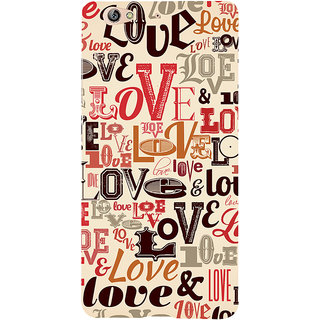 3D Designer Back Cover for Gionee S6 :: Love and Love  ::  Gionee S6 Designer Hard Plastic Case (Eagle-233)