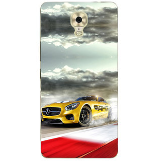 3D Designer Back Cover for Gionee Marathon M6 Plus :: Animated High Speed Car  ::  Gionee Marathon M6 Plus Designer Hard Plastic Case (Eagle-046)