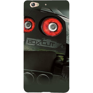 3D Designer Back Cover for Gionee S6 :: Sports Car  ::  Gionee S6 Designer Hard Plastic Case (Eagle-075)