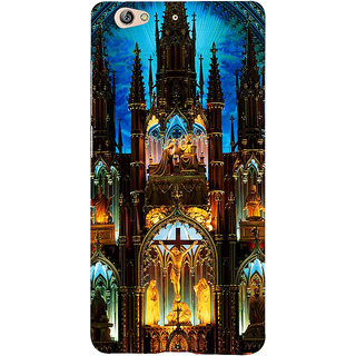 3D Designer Back Cover for Gionee S6 :: Church Building  ::  Gionee S6 Designer Hard Plastic Case (Eagle-079)