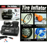 Coido-6526 12V Electric Car Tyre Inflator & Air Compressor Pump 300 Psi