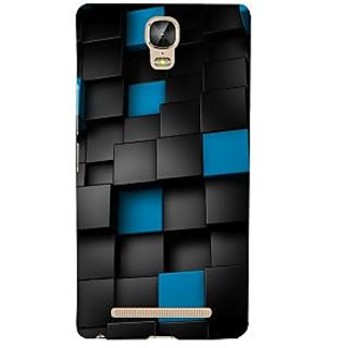 3D Designer Back Cover for Gionee Marathon M5 Plus :: Multicolor Blocks  ::  Gionee Marathon M5 Plus Designer Hard Plastic Case (Eagle-194)
