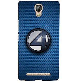 3D Designer Back Cover for Gionee Marathon M5 Plus :: Patterns with Four Logo  ::  Gionee Marathon M5 Plus Designer Hard Plastic Case (Eagle-197)
