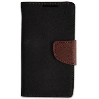 New Mercury Goospery Fancy Diary Wallet Flip Case Back Cover for  Samsung Galaxy Trend (GT-S7392) (BROWN)