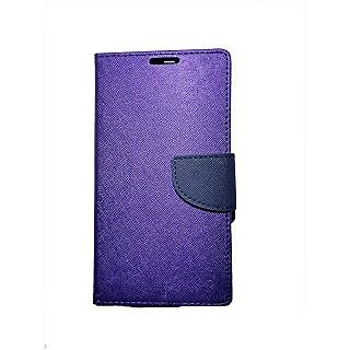 New Mercury Goospery Fancy Diary Wallet Flip Case Back Cover for  Samsung Galaxy Grand 2 (PURPLE)