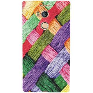 3D Designer Back Cover for Gionee Elife E8 :: Multiple Colorful Pattern  ::  Gionee Elife E8 Designer Hard Plastic Case (Eagle-225)