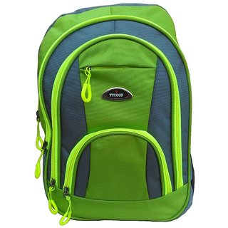 Fashion Bazaar India Green Water Resistant Backpack