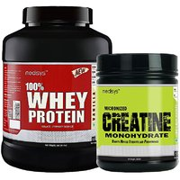 Medisys Muscle Gain Combo Vanilla Whey Protein 2Kg+Creatine