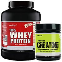 Medisys Muscle Gain Combo Cafe Mocha Whey Protein 2Kg+Creatine