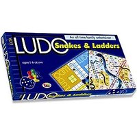 LUDO SNAKES & LADDER A FAMILY GAME - 3573592