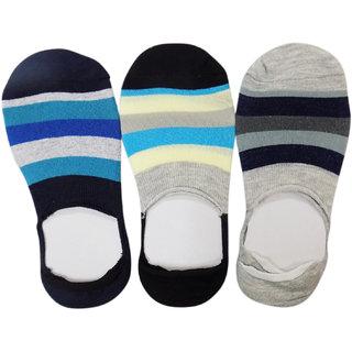 Pair of 3 Men/Boys Cotton Ankle socks, Loafer Socks, Casual Socks