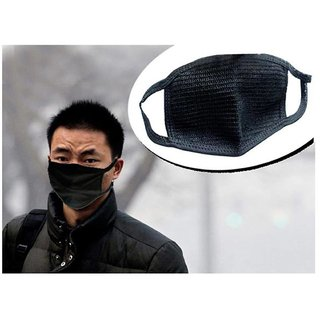 Anti pollution face mask/Bike riding mask set of 2
