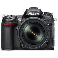 Nikon D7000 16.2MP Digital SLR Camera (Black) with AF-S 18-105mm VR II Kit Lens and 8GB Card, Camera Bag