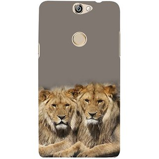Fuson Designer Phone Back Case Cover Coolpad Max ( Pride Of Lions )