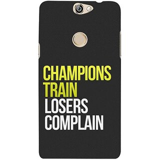 Fuson Designer Phone Back Case Cover Coolpad Max ( Difference Between Champions And Losers )