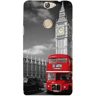 Fuson Designer Phone Back Case Cover Coolpad Max ( A Visit To London )