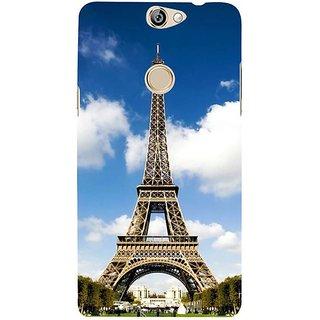 Fuson Designer Phone Back Case Cover Coolpad Max ( Paris Is Love )