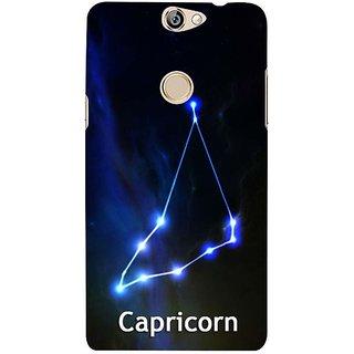 Fuson Designer Phone Back Case Cover Coolpad Max ( Capricorn )