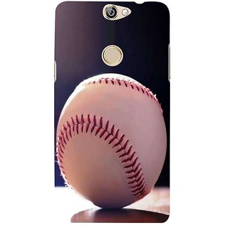 Fuson Designer Phone Back Case Cover Coolpad Max ( A Baseball Ball At Rest )